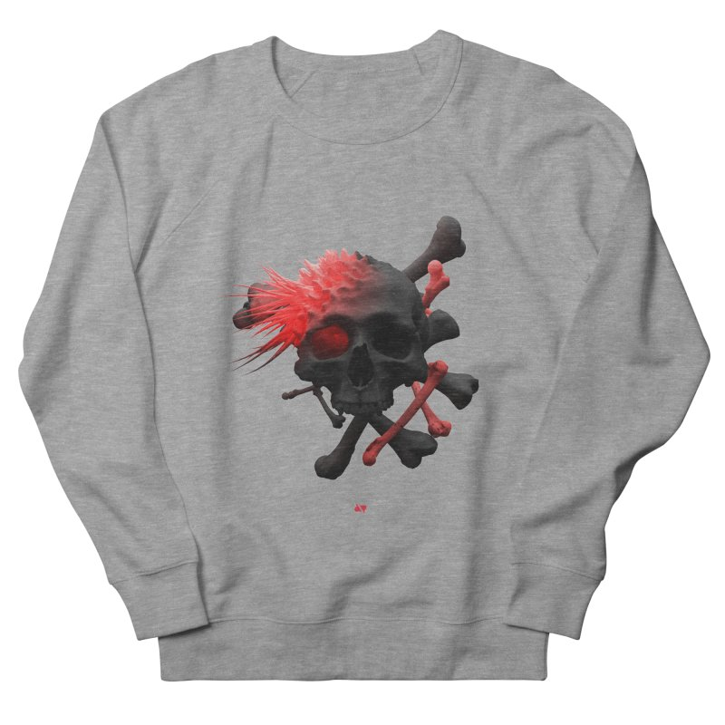 Angry Cap'n Men's French Terry Sweatshirt by AD Apparel