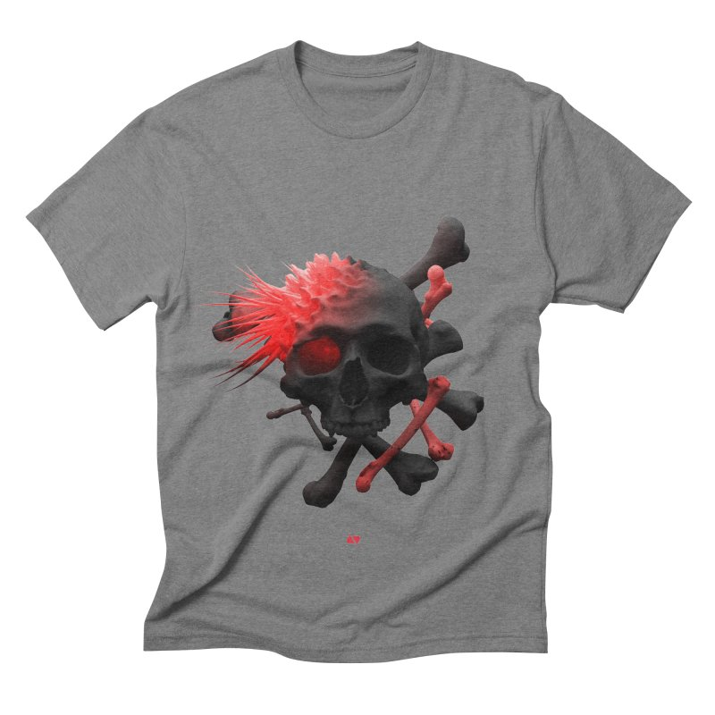 Angry Cap'n Men's Triblend T-shirt by AD Apparel