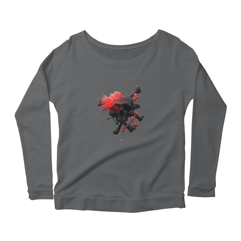 Angry Cap'n Women's Longsleeve T-Shirt by AD Apparel