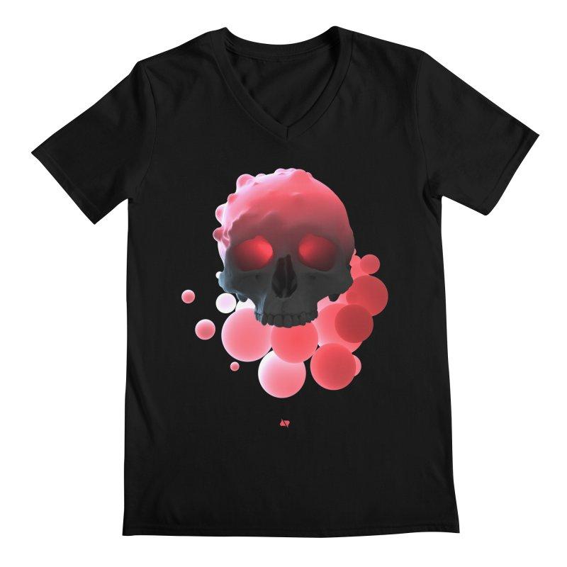 Bubbleboom Men's V-Neck by AD Apparel