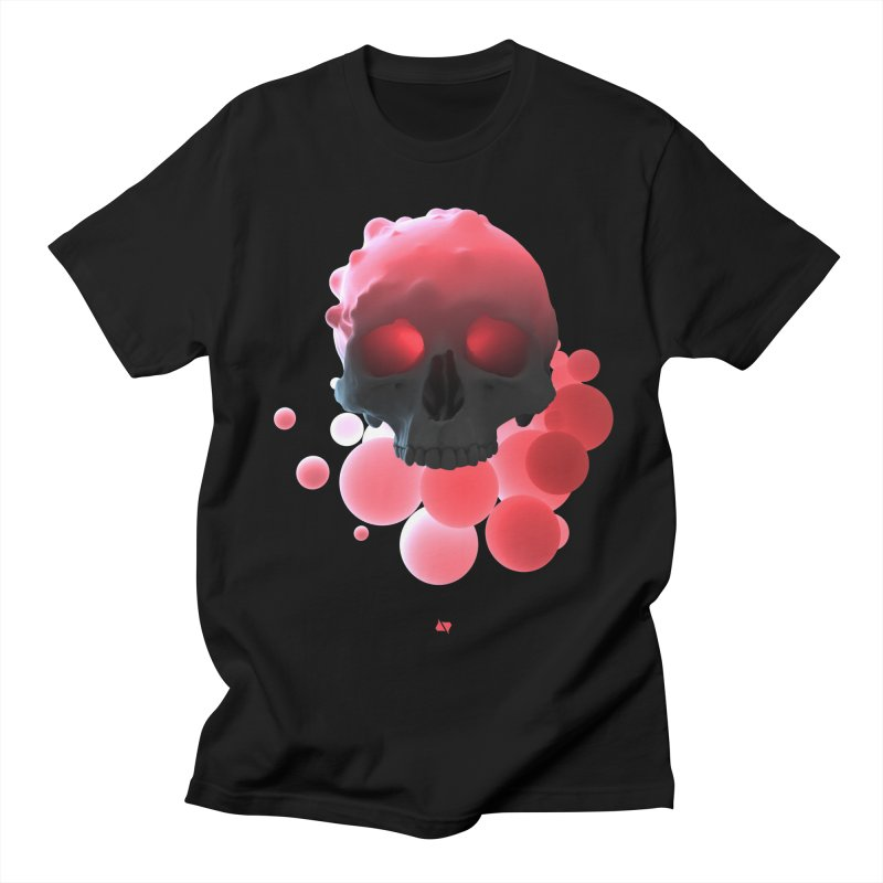 Bubbleboom Women's Regular Unisex T-Shirt by AD Apparel