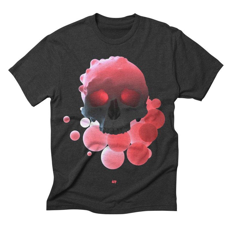 Bubbleboom Men's Triblend T-shirt by AD Apparel