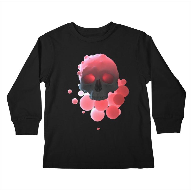 Bubbleboom Kids Longsleeve T-Shirt by AD Apparel