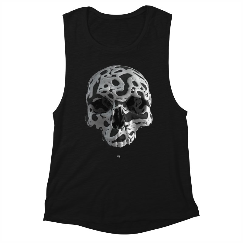 Cammo Women's Tank by AD Apparel