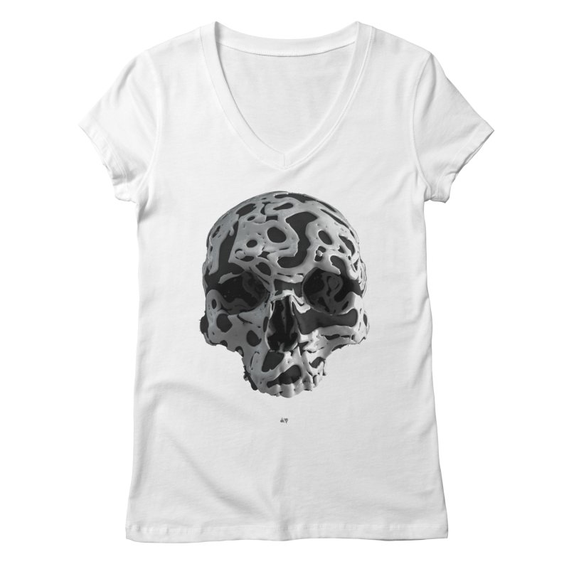 Cammo Women's V-Neck by AD Apparel