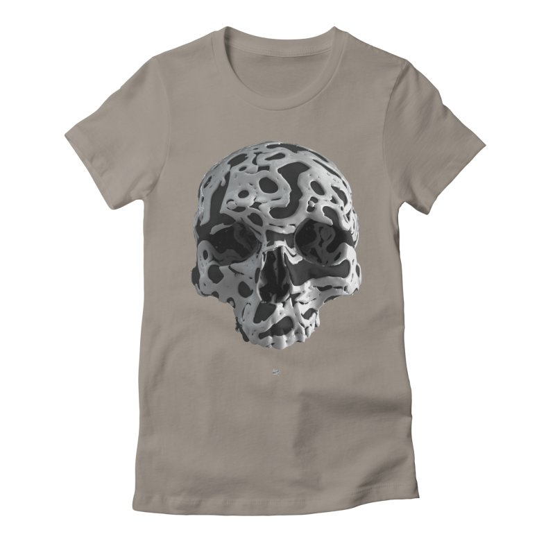 Cammo Women's Fitted T-Shirt by AD Apparel