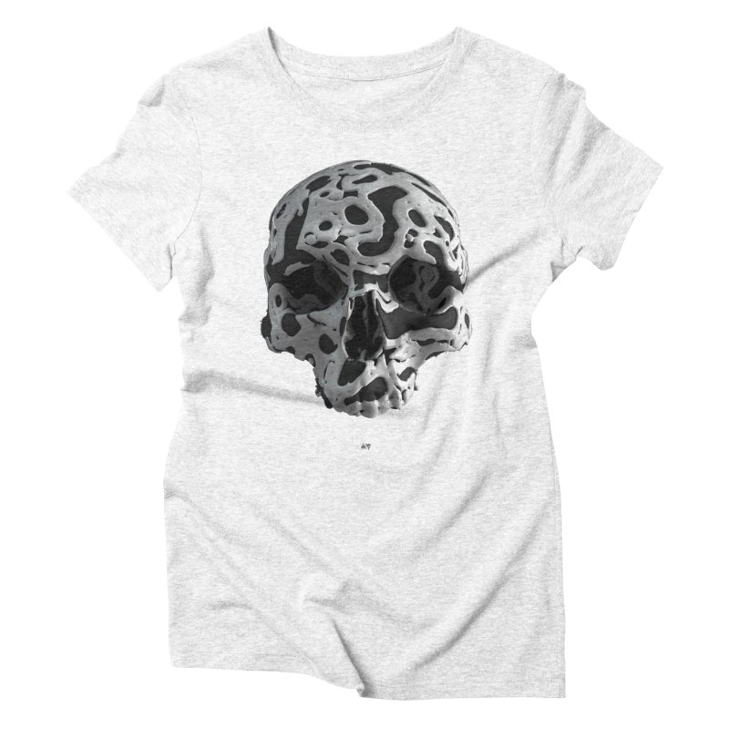 Cammo Women's Triblend T-shirt by AD Apparel
