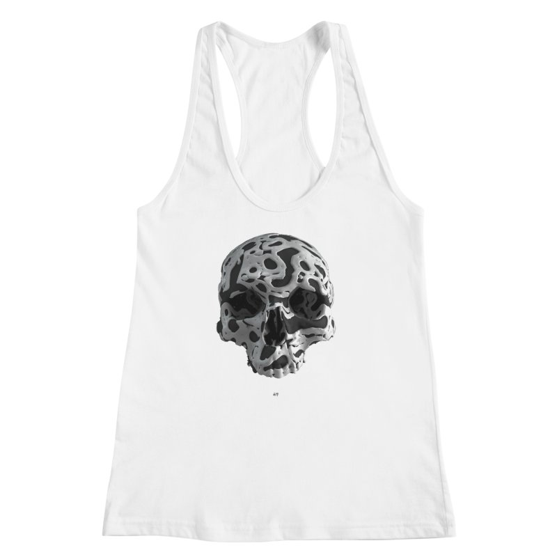Cammo Women's Racerback Tank by AD Apparel