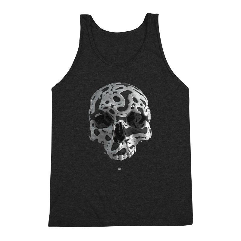 Cammo Men's Triblend Tank by AD Apparel