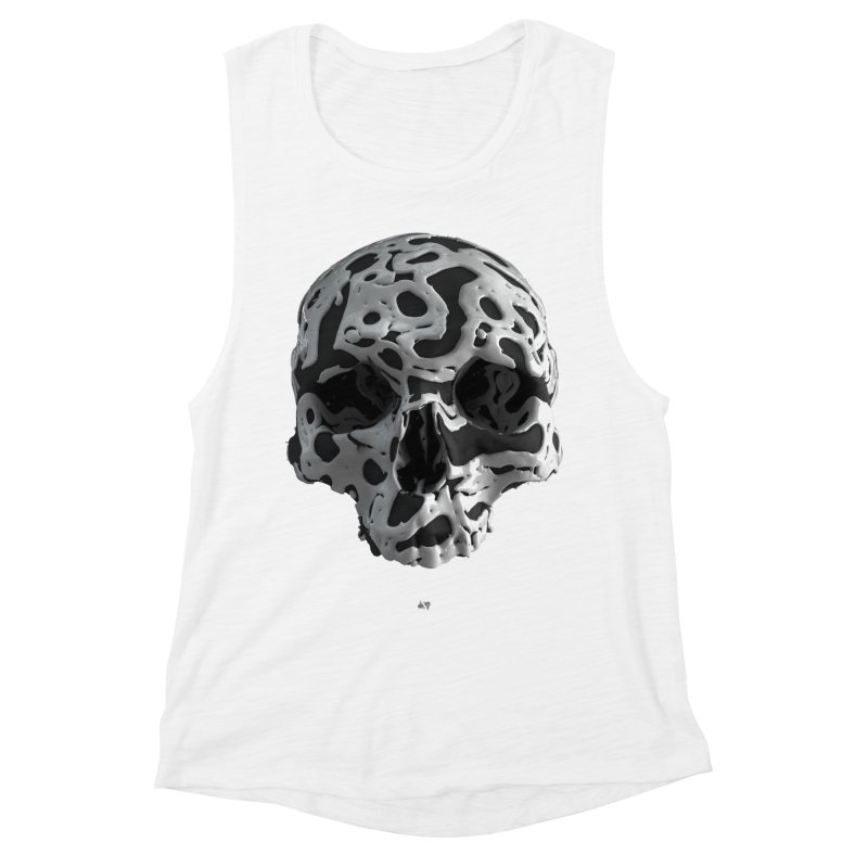 Cammo Women's Muscle Tank by AD Apparel