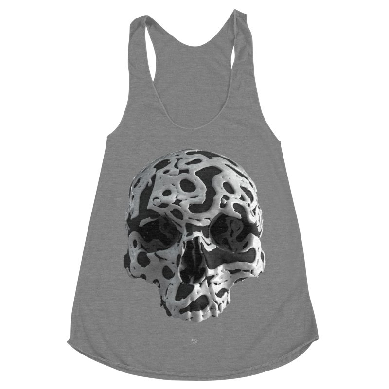 Cammo Women's Racerback Triblend Tank by AD Apparel