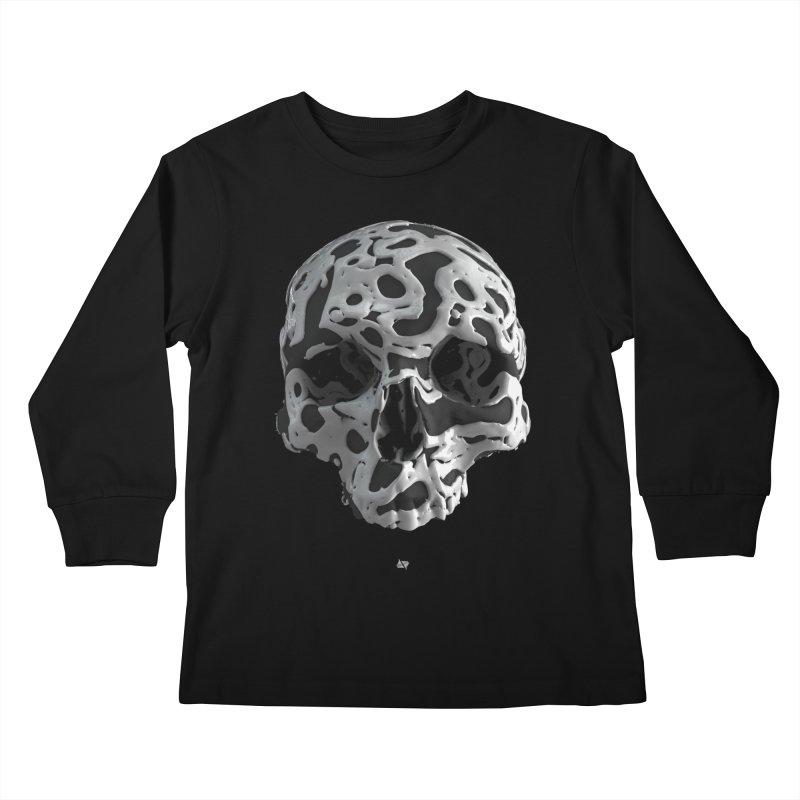 Cammo Kids Longsleeve T-Shirt by AD Apparel