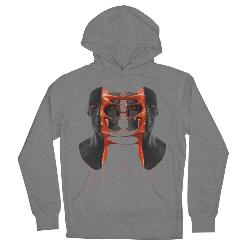 Split Men's French Terry Pullover Hoody by AD Apparel