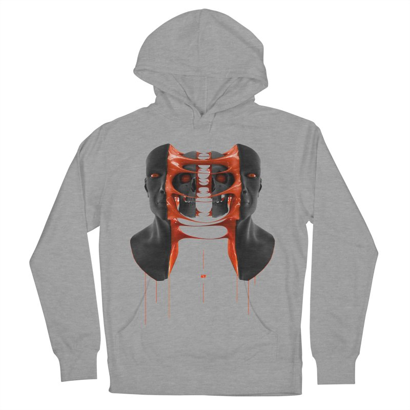 Split Men's Pullover Hoody by AD Apparel