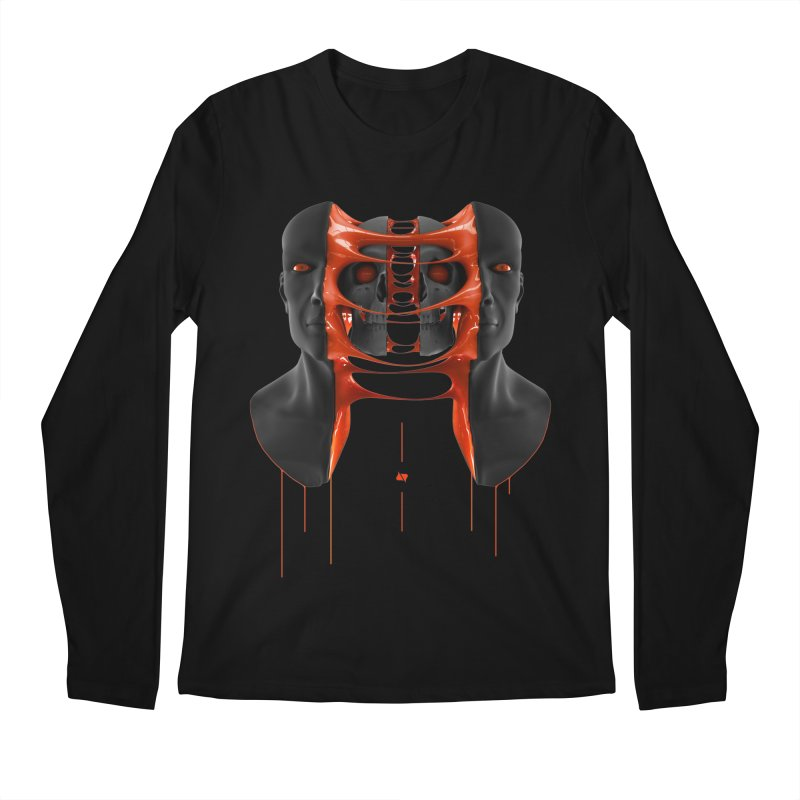 Split Men's Regular Longsleeve T-Shirt by AD Apparel