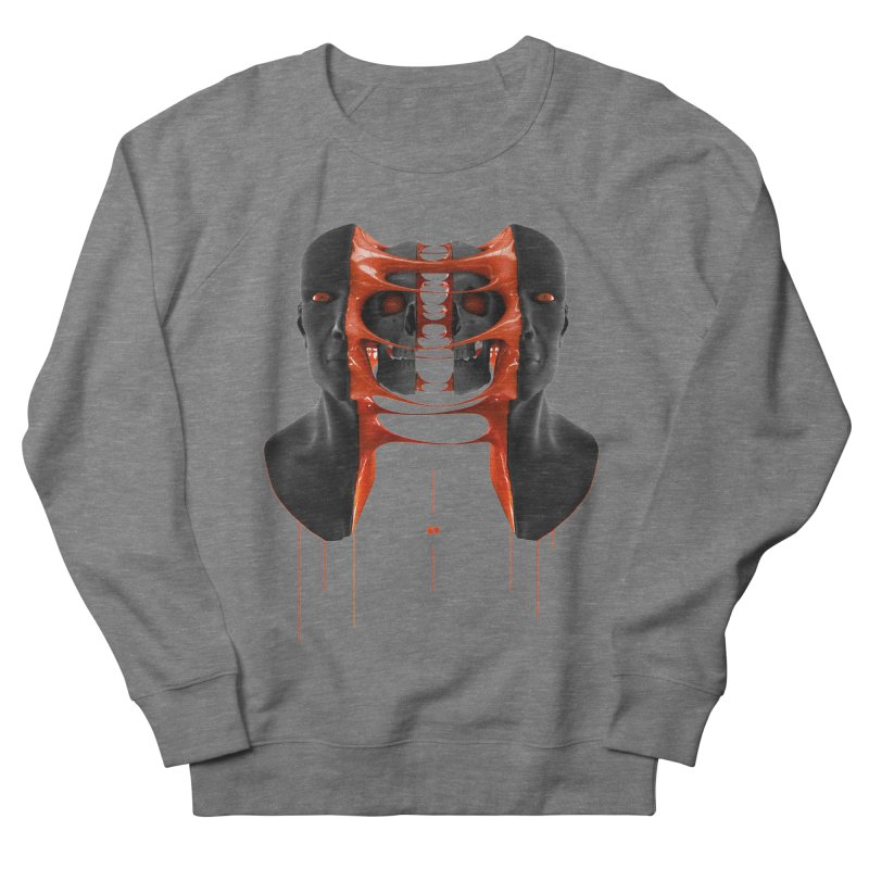Split Men's French Terry Sweatshirt by AD Apparel