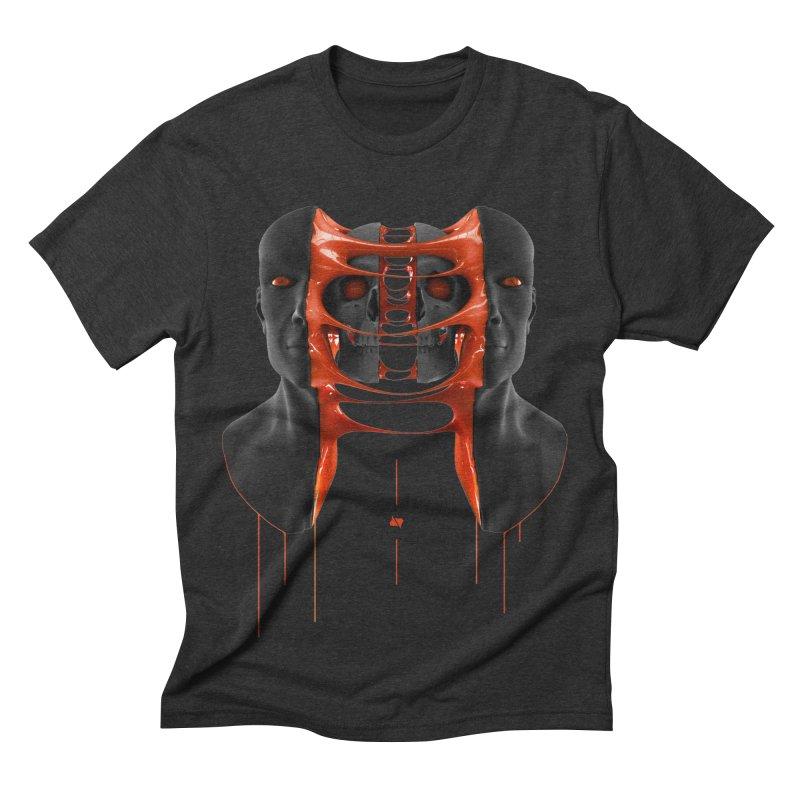 Split Men's Triblend T-shirt by AD Apparel
