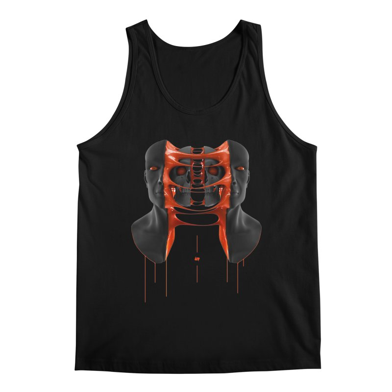 Split Men's Regular Tank by AD Apparel