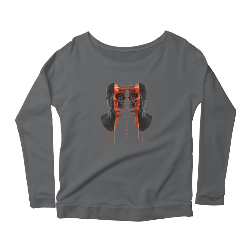 Split Women's Longsleeve T-Shirt by AD Apparel