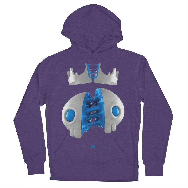 Royal Women's Pullover Hoody by AD Apparel