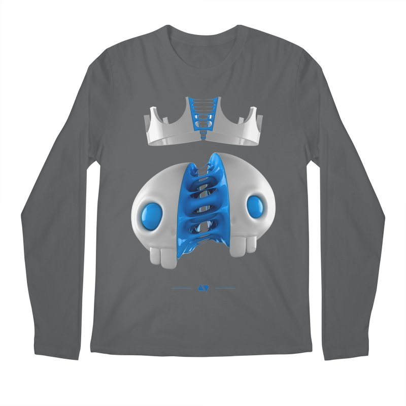 Royal Men's Regular Longsleeve T-Shirt by AD Apparel