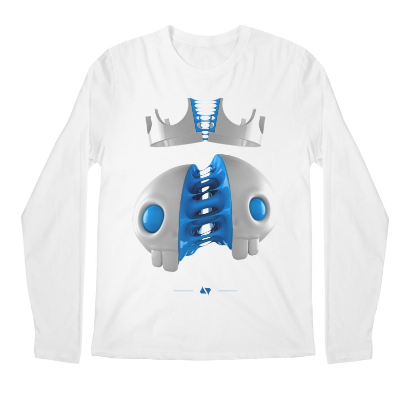 Royal Men's Longsleeve T-Shirt by AD Apparel