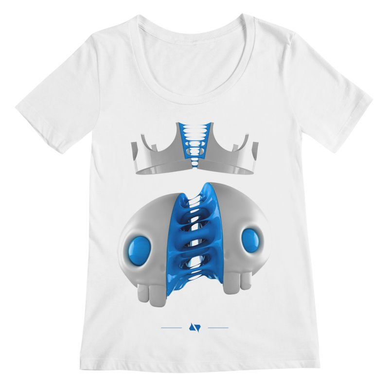 Royal Women's Scoopneck by AD Apparel
