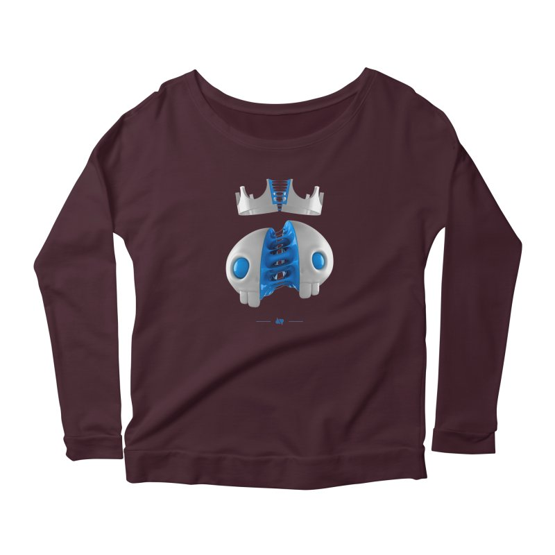 Royal Women's Longsleeve T-Shirt by AD Apparel
