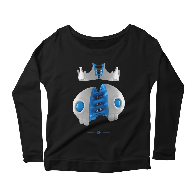 Royal Women's Scoop Neck Longsleeve T-Shirt by AD Apparel