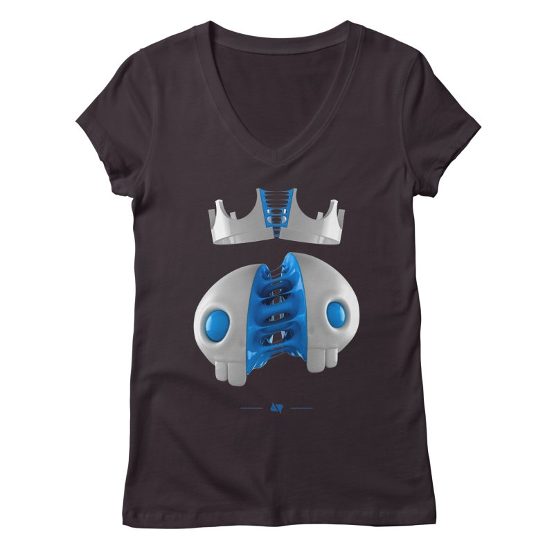Royal Women's V-Neck by AD Apparel