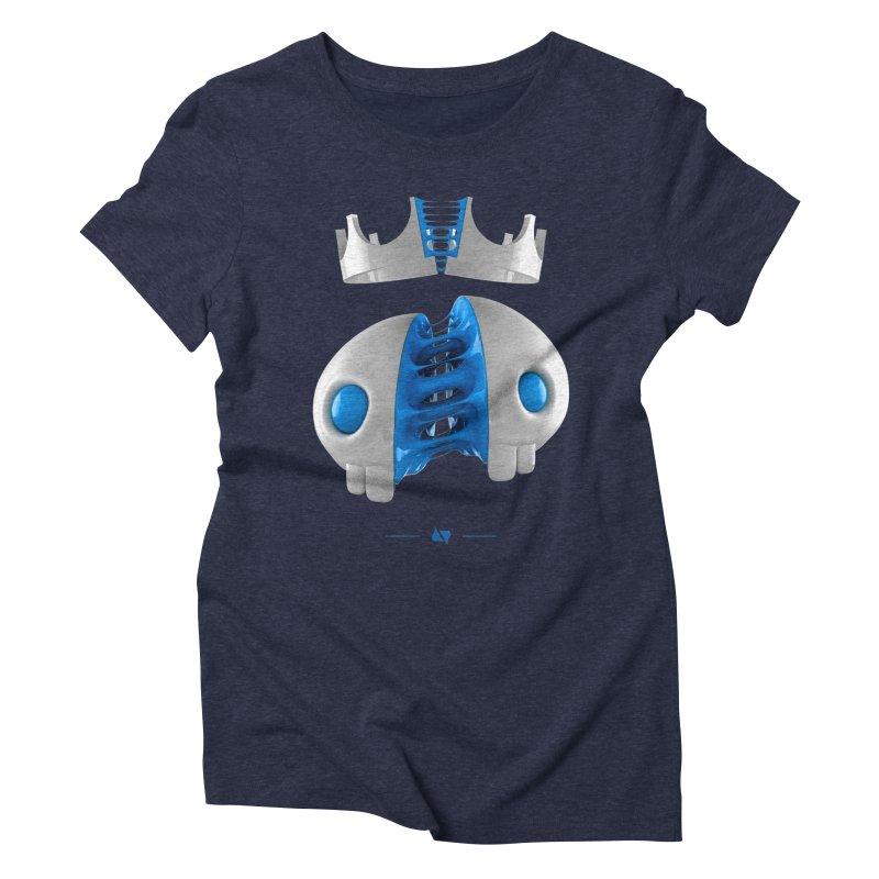 Royal Women's Triblend T-Shirt by AD Apparel