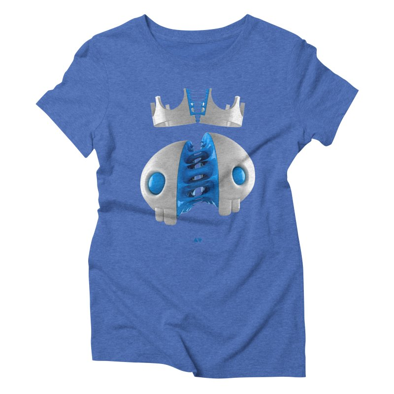 Royal Women's Triblend T-Shirt by AD Apparel