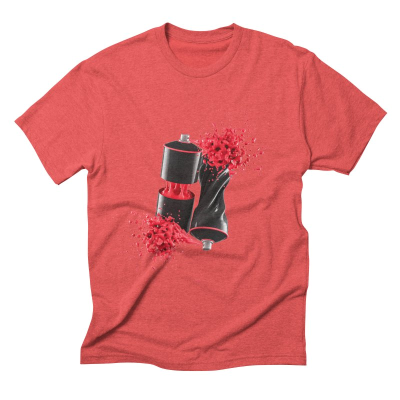 170310 Men's Triblend T-Shirt by AD Apparel