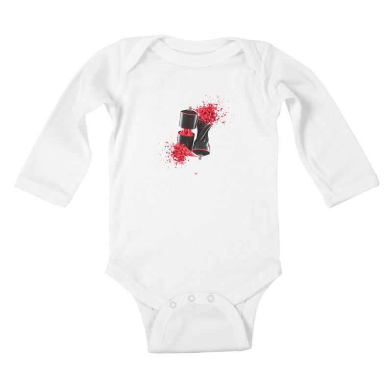 170310 Kids Baby Longsleeve Bodysuit by AD Apparel