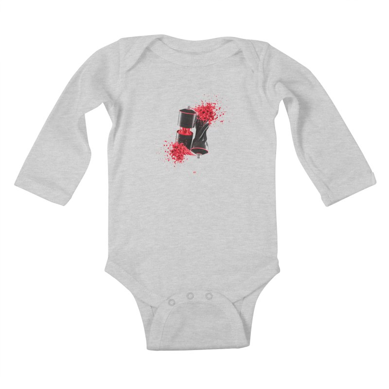 170310 Kids Baby Longsleeve Bodysuit by AD Apparel