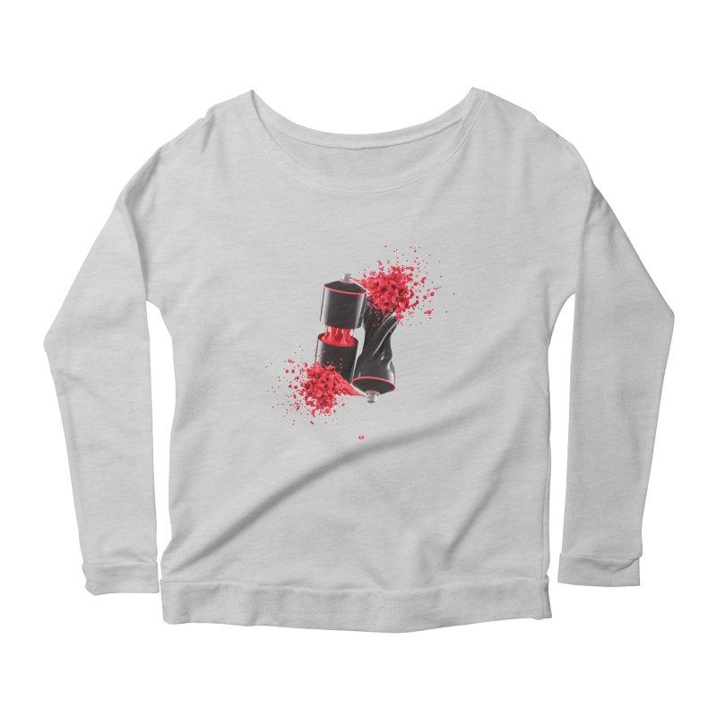 170310 Women's Scoop Neck Longsleeve T-Shirt by AD Apparel