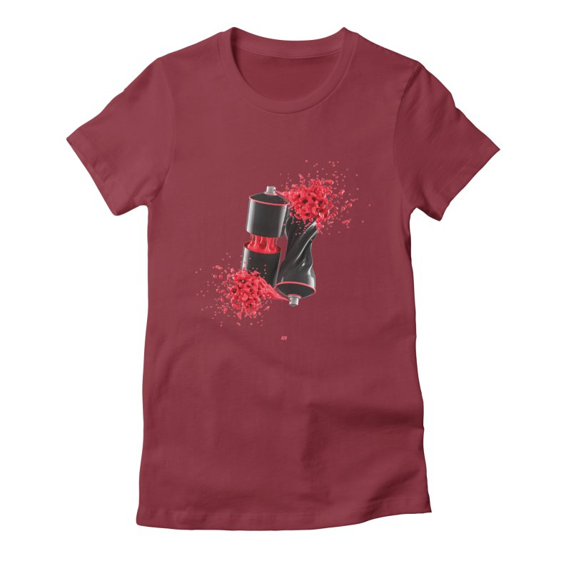 170310 Women's Fitted T-Shirt by AD Apparel