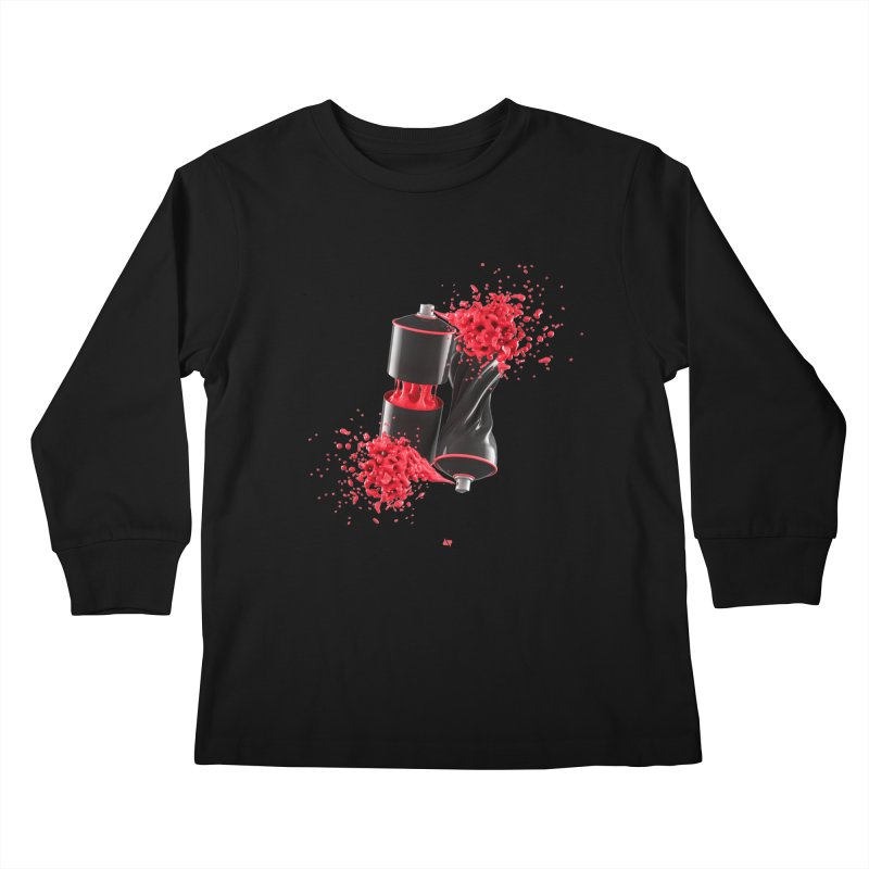 170310 Kids Longsleeve T-Shirt by AD Apparel