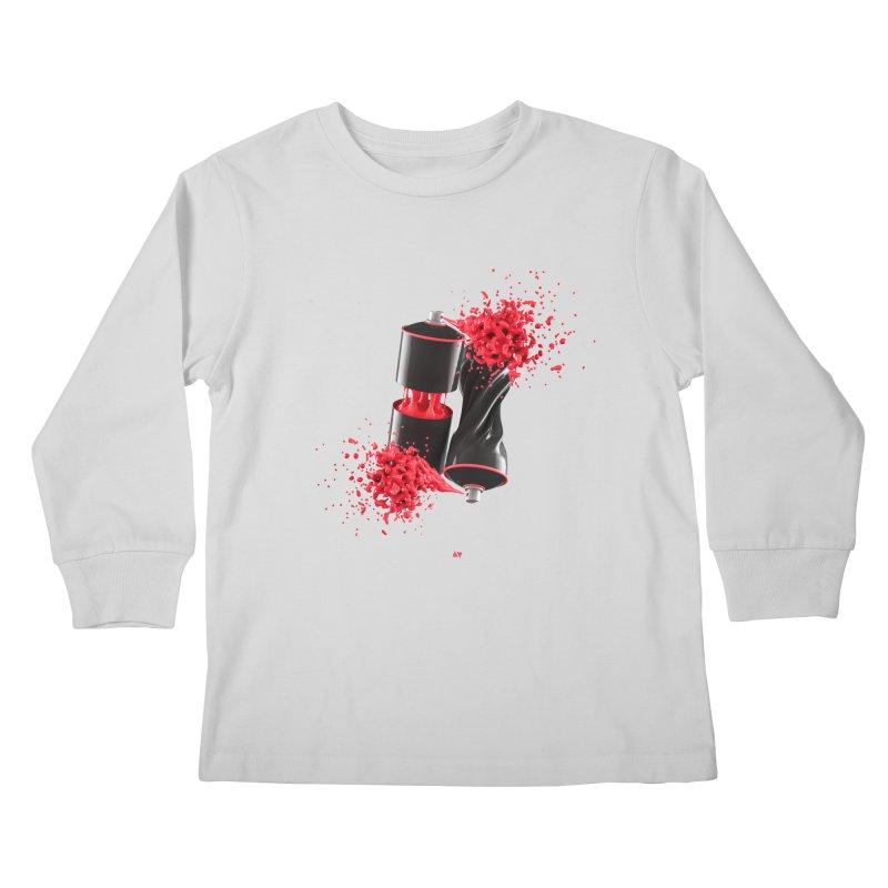 170310 Kids Longsleeve T-Shirt by AD Apparel