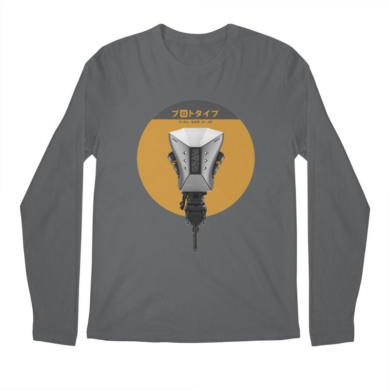 Prototype 01 Men's Longsleeve T-Shirt by AD Apparel