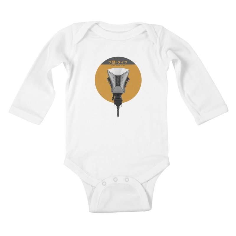 Prototype 01 Kids Baby Longsleeve Bodysuit by AD Apparel