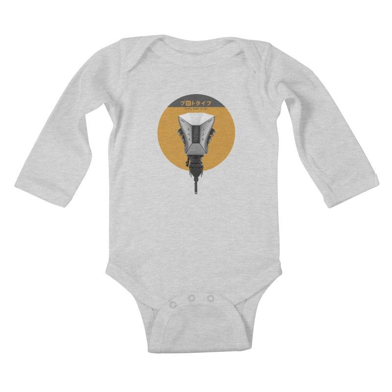 Prototype 01 Kids Baby Longsleeve Bodysuit by AD Apparel