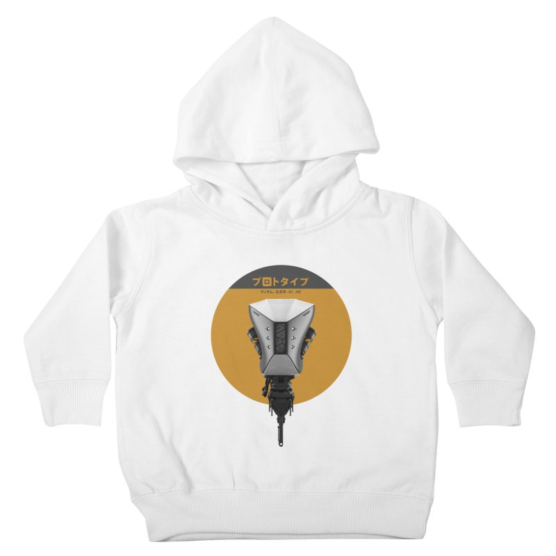 Prototype 01 Kids Toddler Pullover Hoody by AD Apparel