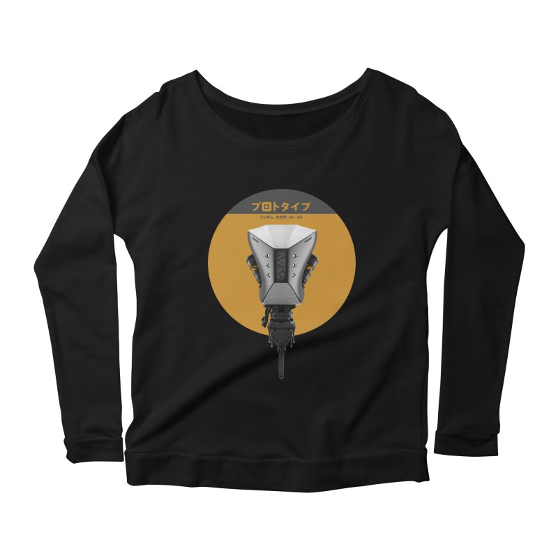 Prototype 01 Women's Longsleeve Scoopneck  by AD Apparel