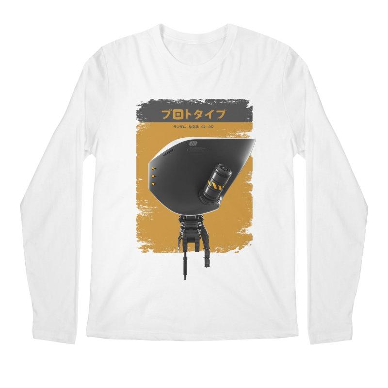Prototype 02 Men's Regular Longsleeve T-Shirt by AD Apparel