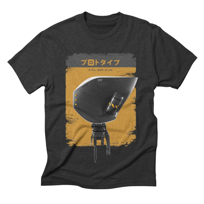 Prototype 02 Men's Triblend T-shirt by AD Apparel