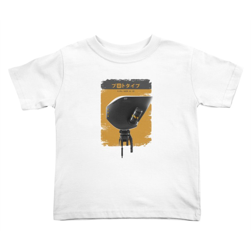 Prototype 02 Kids Toddler T-Shirt by AD Apparel
