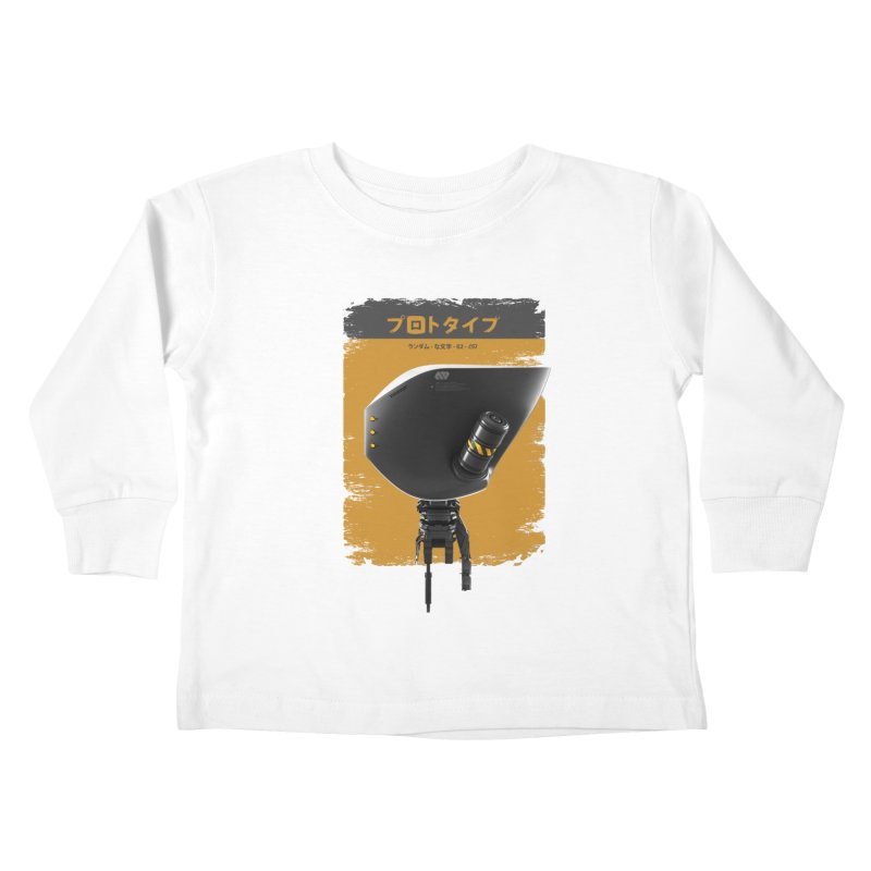 Prototype 02 Kids Toddler Longsleeve T-Shirt by AD Apparel