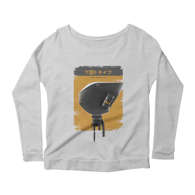 Prototype 02 Women's Scoop Neck Longsleeve T-Shirt by AD Apparel