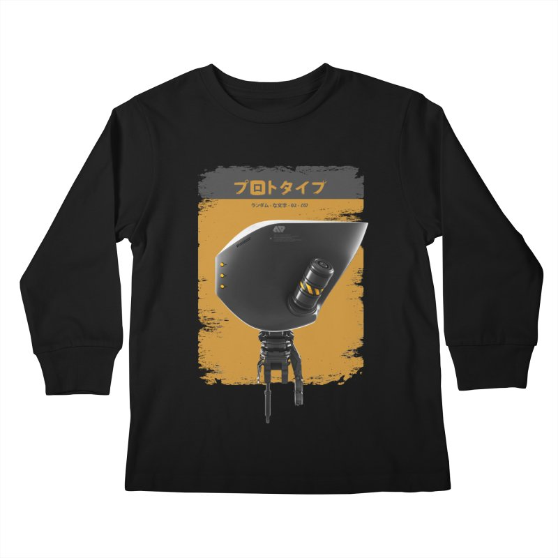 Prototype 02 Kids Longsleeve T-Shirt by AD Apparel